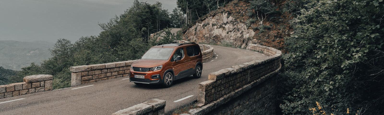 El Nuevo Peugeot Rifter, listo para su primer invierno