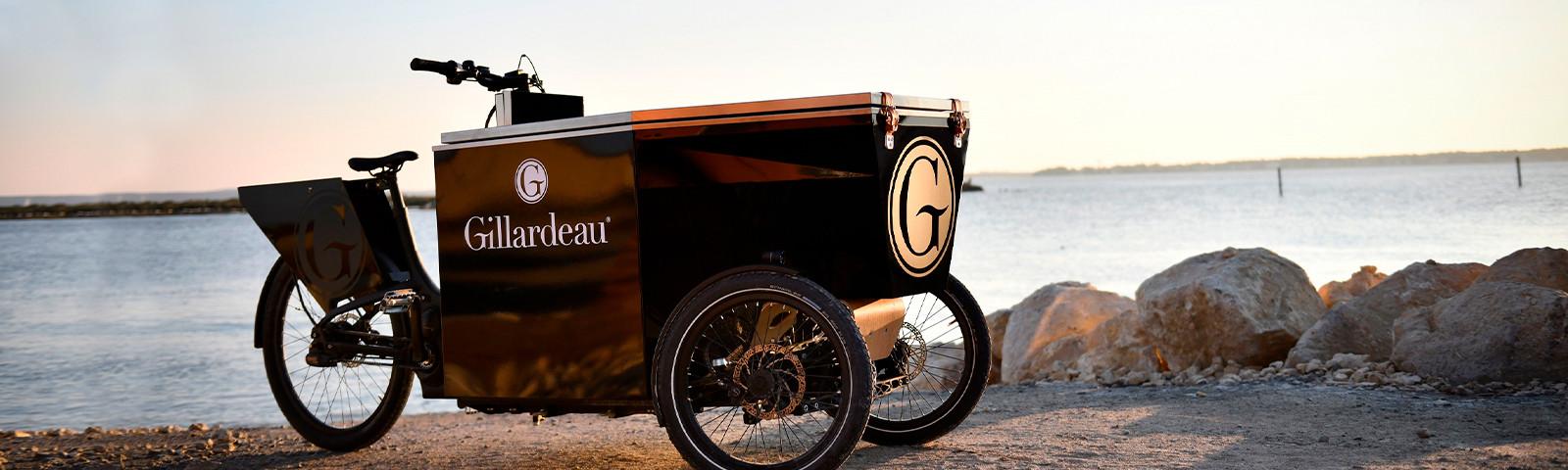 El Peugeot Design Lab crea un innovador triciclo para degustar ostras Gillardeau