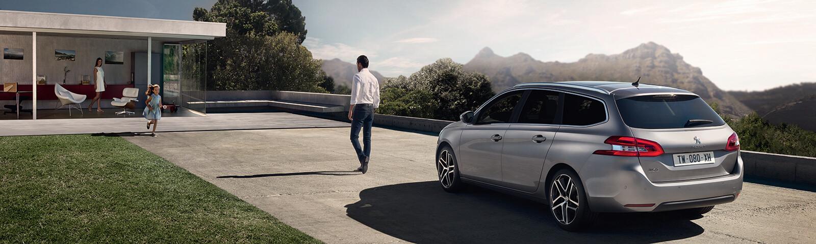 La gama familiar Peugeot se adapta a todos los hogares