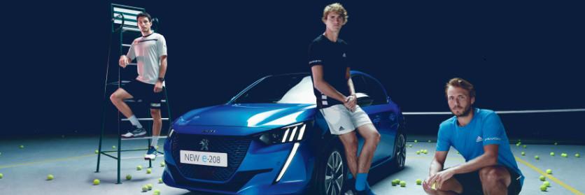 Roland Garros 2019: el Nuevo Peugeot e-208 protagonista del torneo