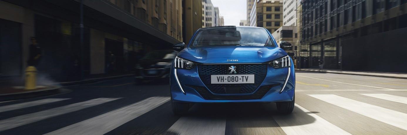 El diseño y dinamismo del Nuevo Peugeot e-208 conquista la muestra VEM de Madrid