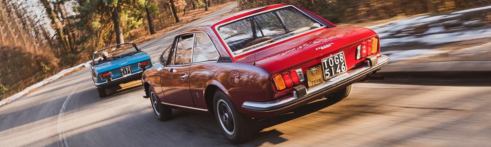 50 años de los Coupé y Cabrio más emblemáticos de la historia de Peugeot