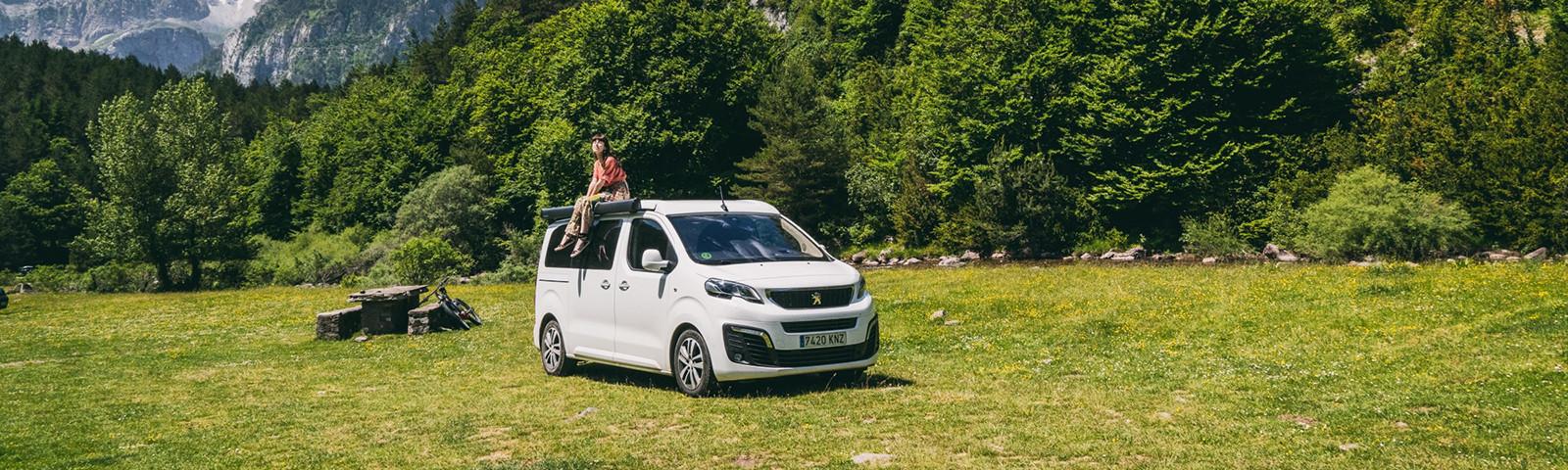 Disfruta de 7 días a bordo del Peugeot Traveller Camper