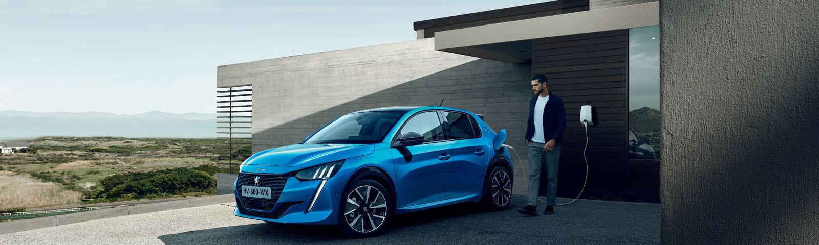 Los cinco ceros que definen al Peugeot e-208