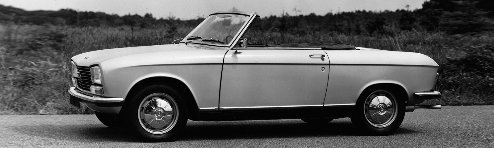 PEUGEOT 304 Cabriolet y Coupé: las versiones lúdicas del antecesor del actual PEUGEOT 308 cumplen 50 años